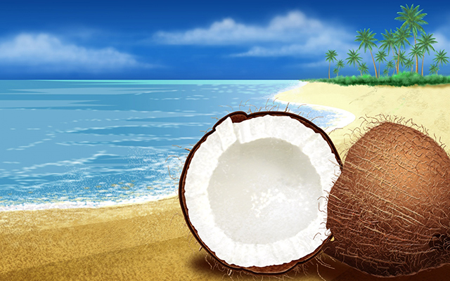 Half-Cut-on-Coconut